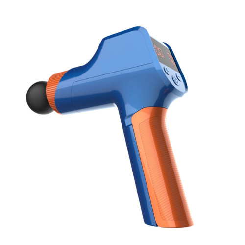 Massage Gun Muscle Pain Body Relaxation Slimming Shaping Pain Relief 4 Heads Relax muscle after exercise sports Fascial Gun