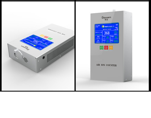 2020 latest Industrial high precision German core air anion portable negative oxygen ion detector PM2.5 analyze monitor