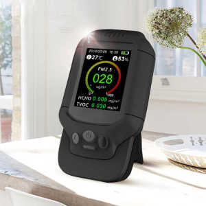 Original manufacturer USA Portable Air Quality Detector USB Charging Intelligent Monitor for PM2.5 TVOC/HCHO dust meter
