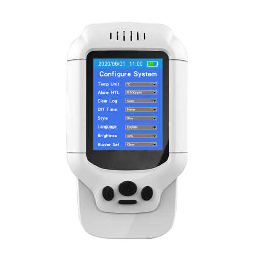 Air Ozone Detector USB charging Ozone O3 Meter Accurate O3 Gas Concentration Detector Portable Analyzer Monitor Alarm 1 buyer