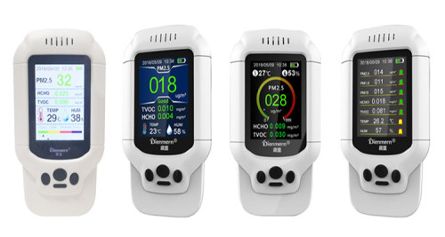 Dienmern DM502 High Quality Multi-functional Indoor Air Quality Pm2.5 Detector Monitor