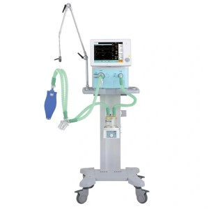 My-E005D Ce Approved Trolley ICU Medical Ventilator Price