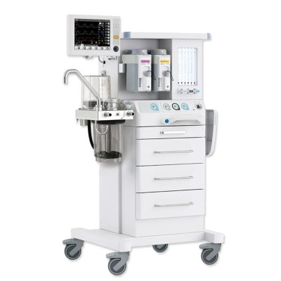 Breathing System 10.4 TFT Color Screen Anesthesia Ventilation Machine with Two Vaporizers