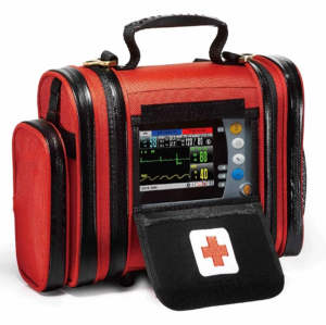First Aid Monitoring Kit Distinctive Ambulance Emergency Transport Patient Monitor