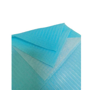 Disposable Waterproof Colorful Dental Bib for Patient Use
