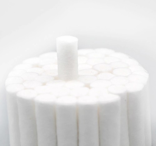 Disposable 100% Highly Absorbent Dental Cotton Roll with Different Sizes