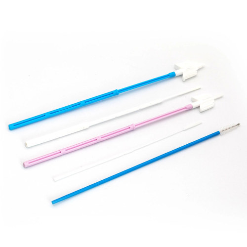 Medical Gynecological Diagnostic Test Swab Cervical Brush for Women Examination
