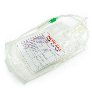 Medical Single/Double/Tripe/Quadruple Blood Bag for Single Use
