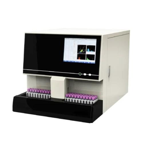 Lab Equipment 5 Part Auto Blood Analyzer Hematology Analyzer with Auto Sampling