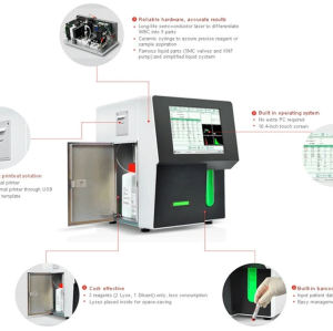 Hematology Analysis 5 Part Blood Cell Machine for Hospital Clinical