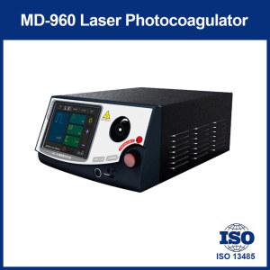 LASER PHOTOCOAGULATOR of treating ocular fundus diseases.