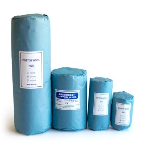 Disposable Medical Absorbent 500g Cotton Wool Roll
