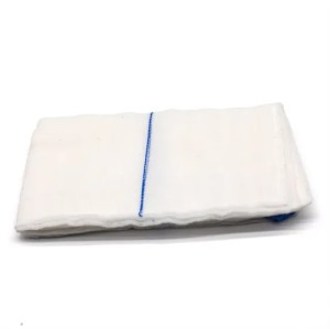 Surgical Sterile Pre-Washed Absorbent Gauze Lap Sponge for Abdominal Surgery