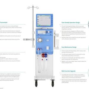 Blood Purification Dialysis Device Single Pump Hemodialysis Machine