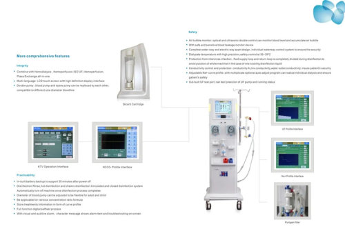 Portable Medical Mobile Hemodialysis Machine Kidney Dialysis Machine