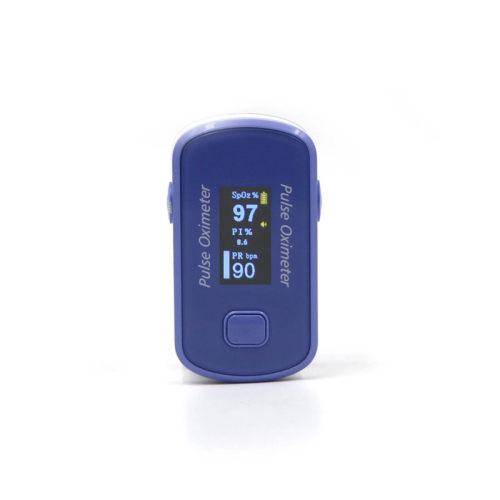 SpO2 \Pr \Pi Blood Oxygen Monitor Fingertip Pulse Oximeter with TFT Screen