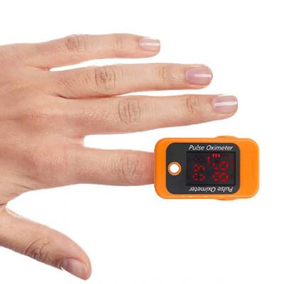 In Stock Best Digital LED Screen Blood Oxygen SpO2 Fingertip Pulse Oximeter