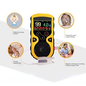 OLED Digital Display SpO2 Blood Oxygen Saturation Monitor Handheld Pulse Oximeter
