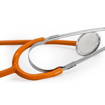 Medical Colorful Single Head Nursing Stethoscope for Adult Use