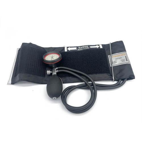 2-Tube Plam Aneriod Sphygmomanometer with Stethoscope