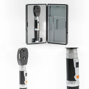 Portable Direct Illumination Ophthalmoscope with LED Light