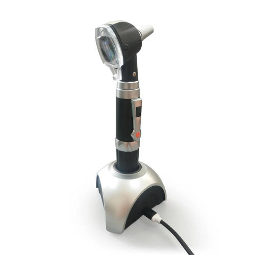 Rechargeable Otoscope with LED Bulb for Ear Canal Examination
