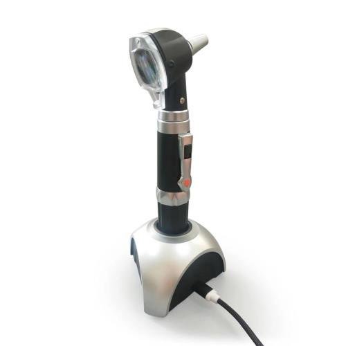 Ent Diagnostic Set Rechargeable Fiber Optic Otoscope
