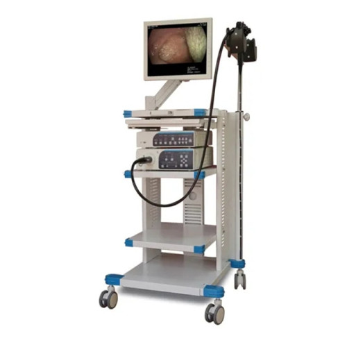 The High Resolution Medical Video Endoscopy Machine with Econimic Price Video Endoscope System