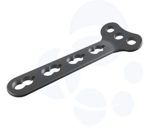 Orthopedic Titanium Implants of Distal Radius Small Fragment Locking Plates