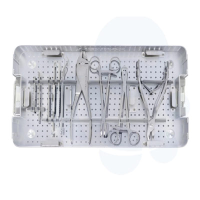 Medical Surgical Instrument Set for Mini Locking Plate Orthopedic Trauma Implants Drill Bit