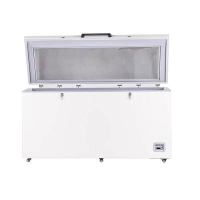 Medical Vaccine Storage High Capacity Horizontal -25 Degree Deep Freezer 485L