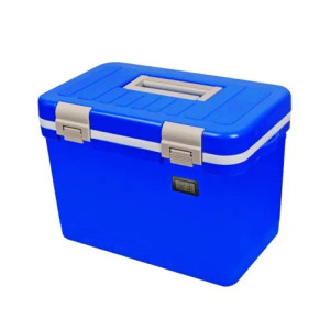 5.5L Plastic Medical Transport Cooler Shipping Box for Vaccines Storage