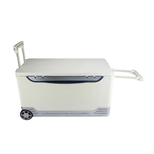 46L Vaccine Transport Cooler Box with Wheels and Trolley