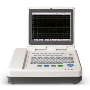Hospital Digital 12.1′′color TFT Touch Screen 12 Channel Electrocardiograph ECG Machine