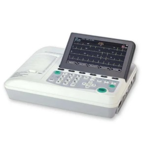 Basic Economical Digital 3 Three Channel Electrocardiograph ECG Machine