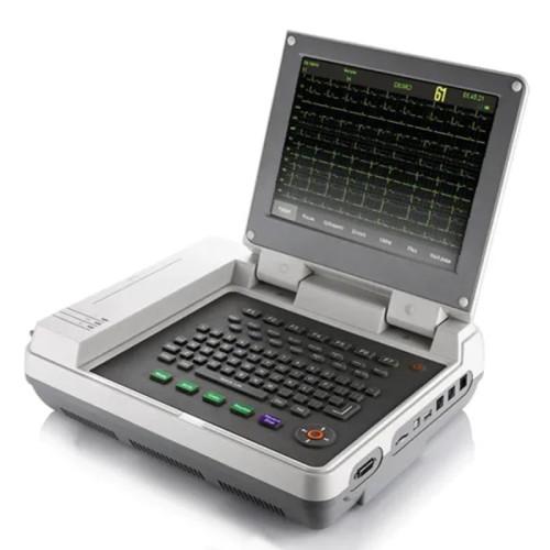 Waterproof 12.1 Inch Color LCD Digital 12 Channel ECG Machine