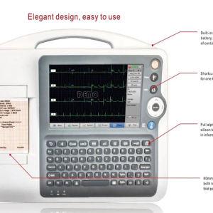 Medical Device Three Channel ECG Machine ECG Instrument