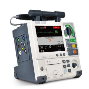 Medical Equipment First Aid Aed Biphasic Defibrillator/Monitor for Sale