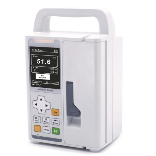 Hospital Equipment Large Color TFT Display Infusion Pump
