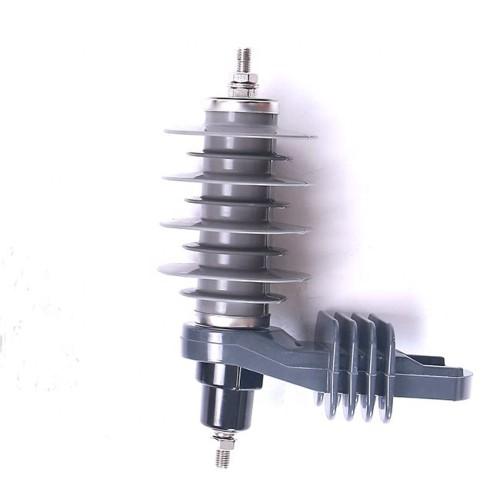 Electric power line material metal-oxide 11KV lightning surge arrester