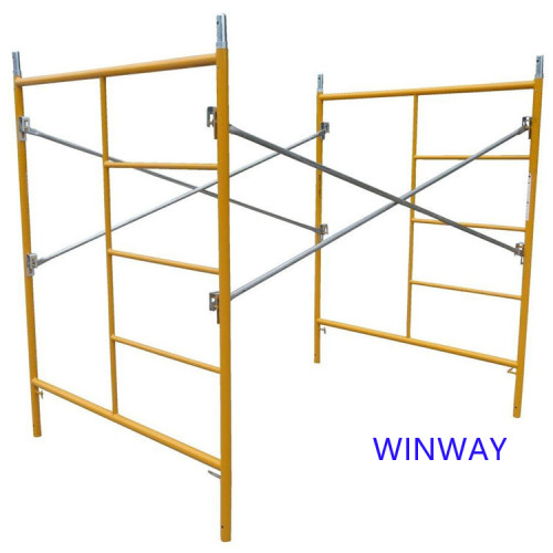 TSX Layher Frame Scaffolding System Frame Construction Scaffold