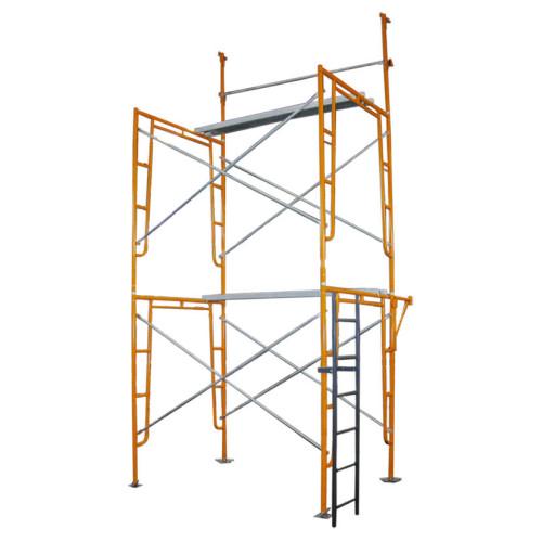 Cuplock Scaffolding Galvanized Layher Climbing Frame Scaffolding