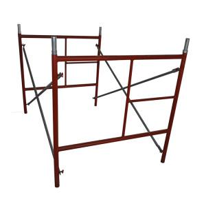 Ladder Type Scaffolding Frames Adjustable Shoring Jack Construction Scaffold