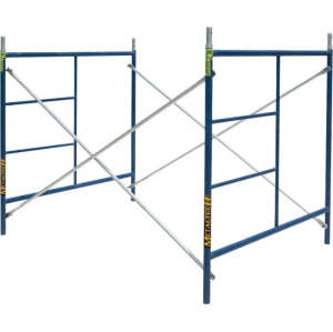 Mobile Scaffolding System 914 1700mm Steel Scaffold Frame For Construction