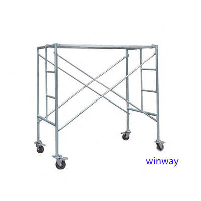 Hot sales custom color painted mobile scaffolding frame for construction