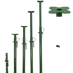 Scaffolding Steel Acrow Telescop Adjustable Scaffolding Steel Prop Floor Prop For Construction