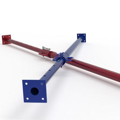 Painted Heavy Duty Adjustable Steel Support Post Steel Shoring Props