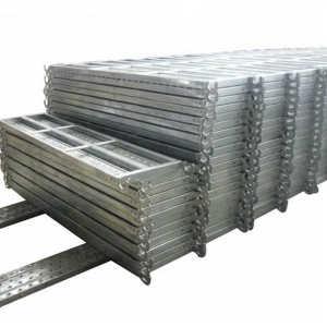 Metal Scaffold Galvanized Steel Planks With Catwalk