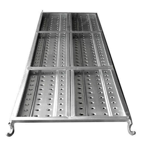 Construction Scaffolding Metal Decking With Hook
