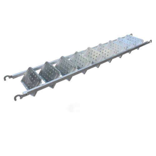 Scaffolding Staircase Ladder Easily Install Stair Case Steel Ladder with Hooks For Construction